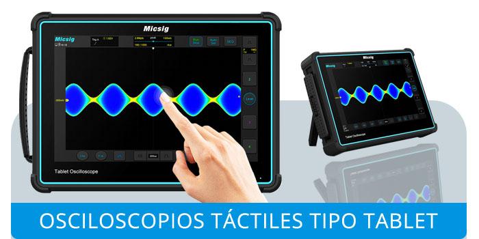 Osciloscopios Táctiles Micsig