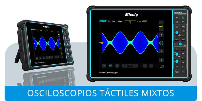Osciloscopios Táctiles Mixtos Micsig