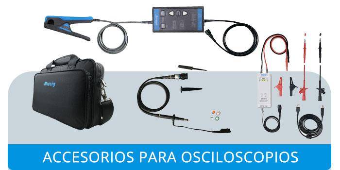 Accesorios Micsig para osciloscopios